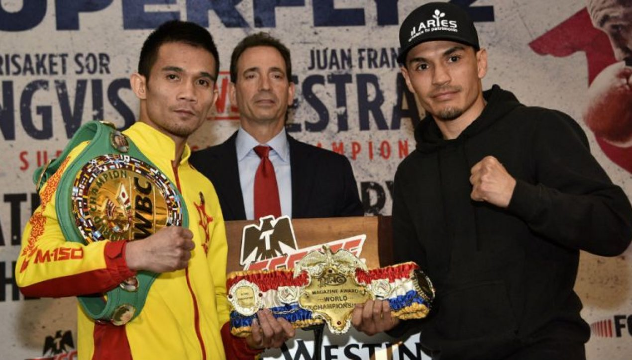 Gallo Estrada, listo para ser el nuevo campeón Supermosca