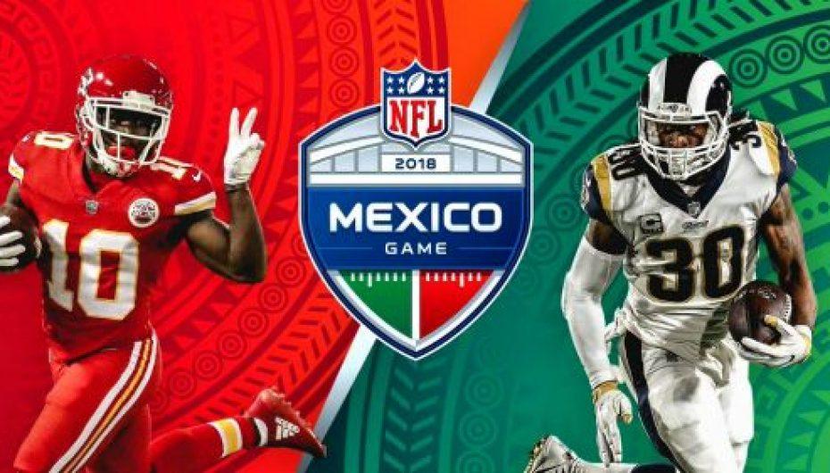 """El Chiefs VS Rams en el Azteca, se jugará en """"lunes por la noche"""""""