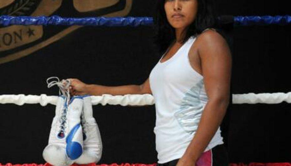 """Centroamericana Carolina """"Princesa"""" Arias dedica pelea a Costa Rica"""