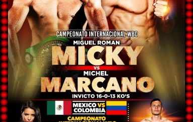 """MICKY"" ROMÁN ENCABEZA VELADA DE PURO TALENTO JUARENSE"