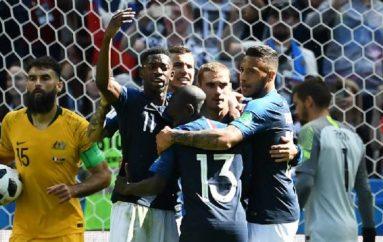 ElVAR debuta en el Mundialy Francia derrota a Australia