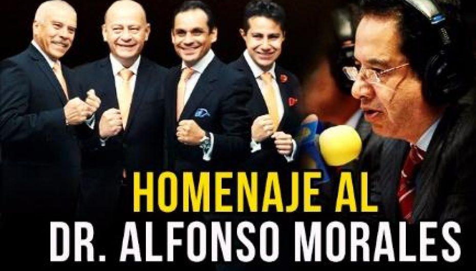 LA COLISEO, TESTIGO DEL HOMENAJE AL DR. ALFONSO MORALES
