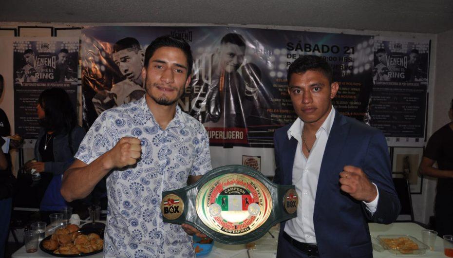 Veneno Boxing presenta Campeonato Nacional en CDMX.