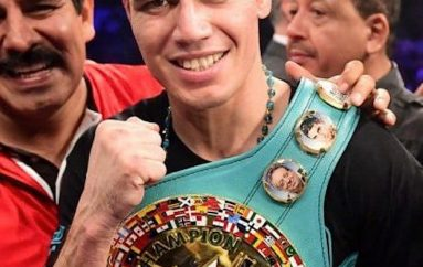 """El primer paso para recuperar mi campeonato: """"Cuatito"""" Ruiz."""