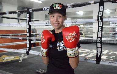 """Irma """"Güerita"""" Sánchez usará guantes """"No Boxing No Life"""" para su enfrentamiento con Naoko Fujioka"""