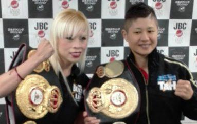 "Irma ""Güerita"" y Naoko Fujioka, listas para definir a la soberana mundial mosca absoluta WBA"