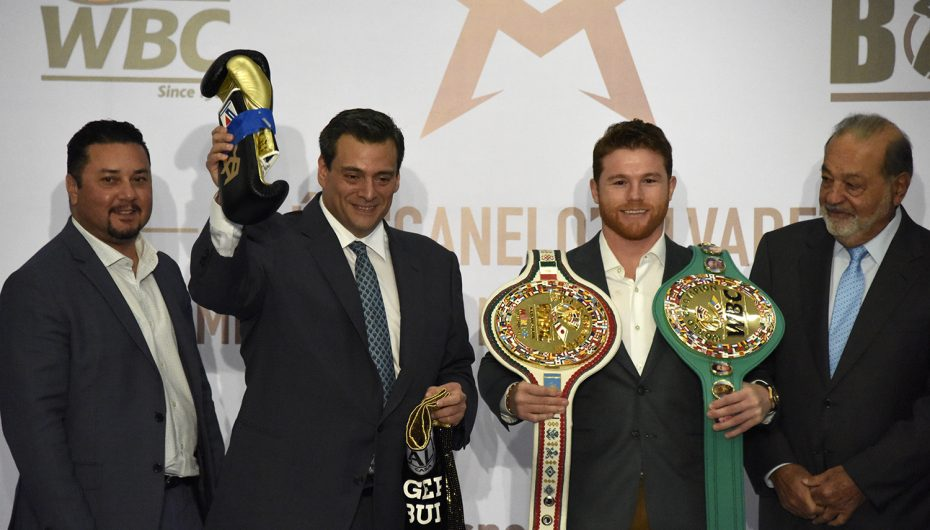 Saúl Álvarez indiscutible campeón mediano WBC e ídolo de México