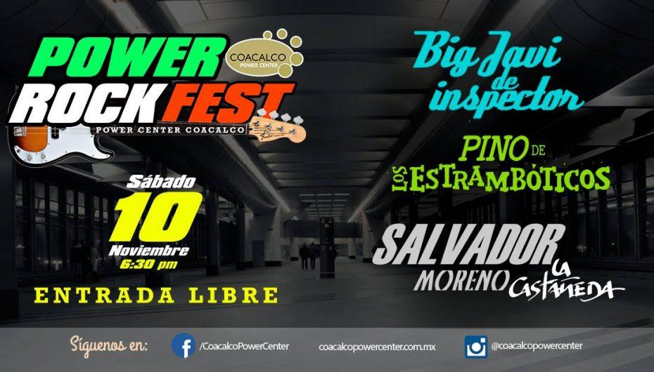 PRESENTAN EL FESTIVAL POWER ROCK FEST EN COACALCO