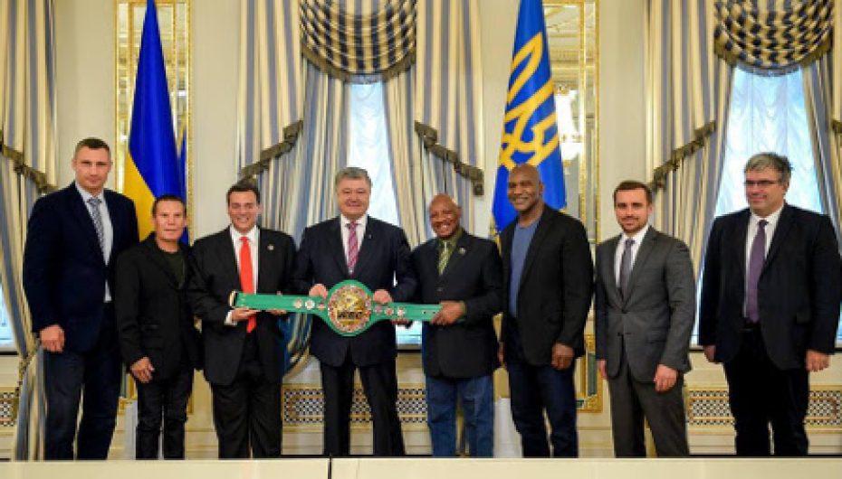 El Presidente de Ucrania recibe a los Campeones del CMB