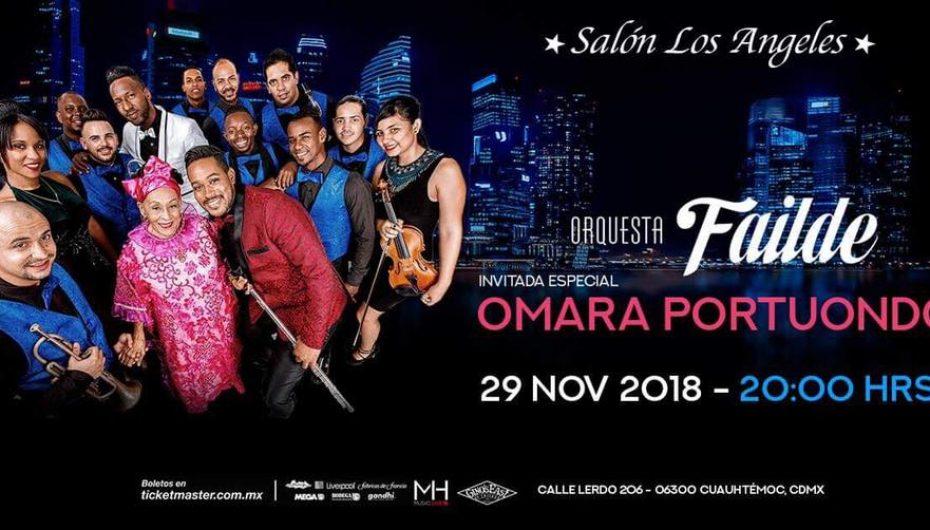 La cantante cubana Omara Portuondo llegará de nueva cuenta a la Ciudad de México