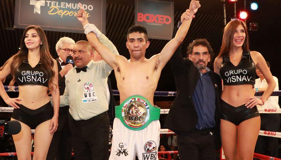 Ganigan López, nuevo campeón latino del CMB