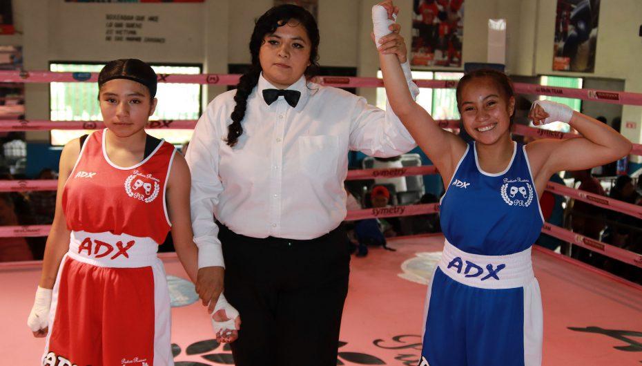 Explosivo arranque del Torneo Puños Rosas 2018.