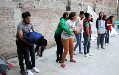 MUJERES EN TEXCOCO APRENDEN DEFENSA PERSONAL: FSKM MX