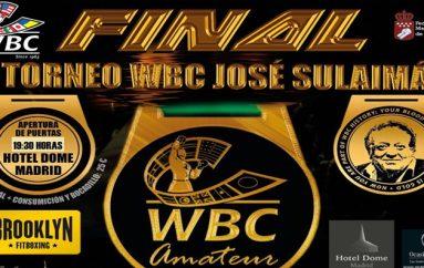 Exitoso torneo WBC JOSÉ SULAIMÁNen Madrid, España