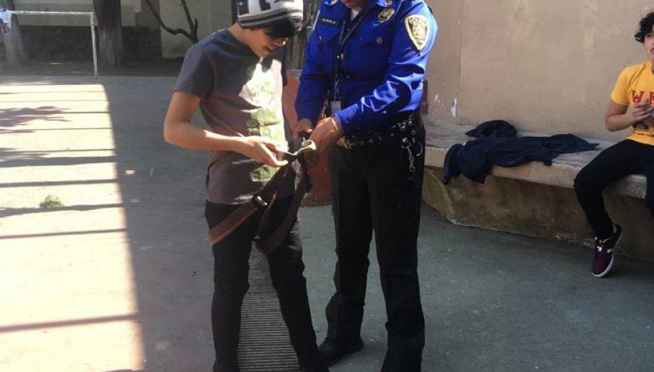GRATA CONVIVENCIA DE POLICIAS CON NIÑOS Y ADOLESCENTES: S S C Cd MEXICO,