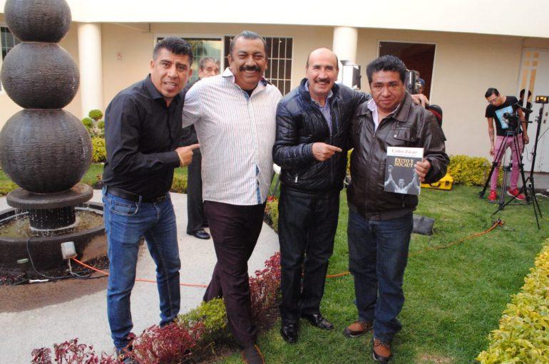 CARLOS ZÁRATE EN CONVIVENCIA EN LA CLÍNICA HACIENDA NUEVA VIDA
