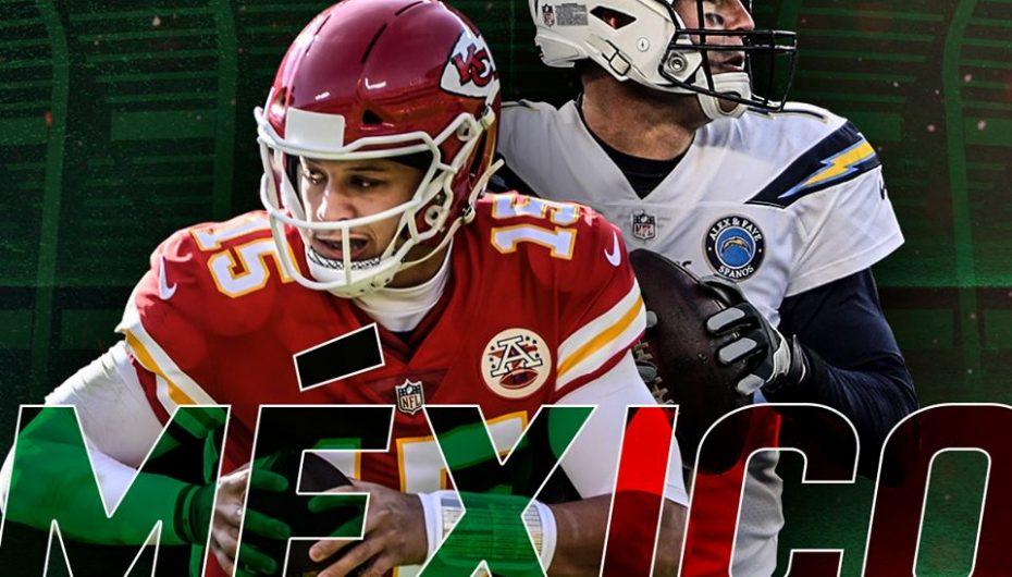 NFL anuncia partido en México para la temporada 2019