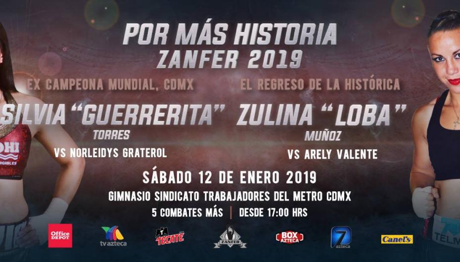 """""""Guerrerita"""" Torres y """"Loba"""" Muñoz abren temporada 2019."""