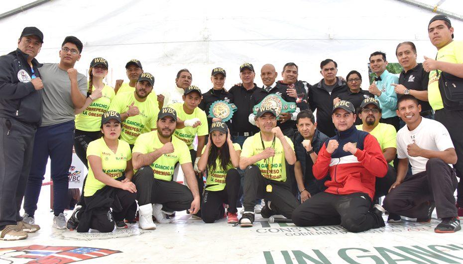 """CMB da un """"gancho al sobrepesoy la obesidad""""en Tlaxcala"""