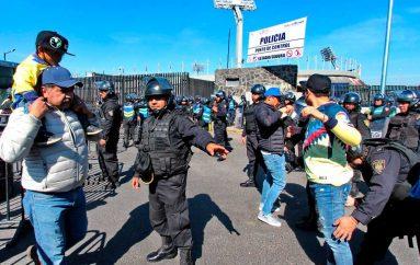 CERCA DE 4 MIL POLICÍAS VIGILARÁN EL CLÁSICO CAPITALINO DE FÚTBOL: S S C