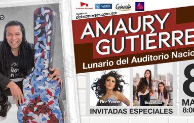 EL CANTAUTOR CUBANO AMAURY GUTIERREZ CELEBRARÁ 20 AÑOS DE CARRERA CON CONCIERTO EN EL LUNARIO