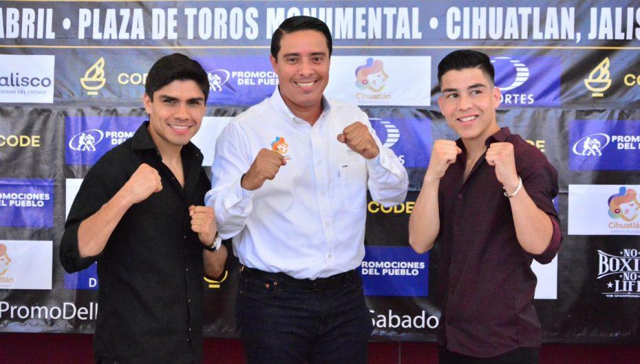 GUEVARA  Y ARCE PRESENTAN EXPLOSIVA VELADA EN CIHUATLÁN
