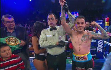 """""""JAGUAR GUTIÉRREZ CAMPEÓN DEL TÍTULO INTERNACIONAL WBC AL VENCER """"GUSANO"""" ROJAS"""