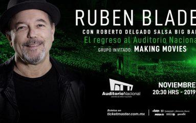 RUBEN BLADES & ROBERTO DELGADO SALSA BIG BAND EN MÉXICO