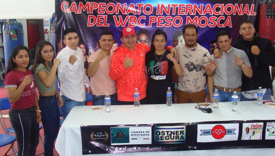 CALVO VS ZACARIAS: POR TÍTULO INTERNACIONAL WBC.