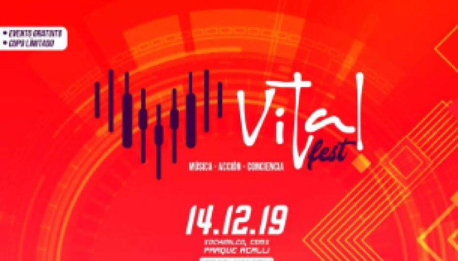 LLEGA EL VITAL FEST 2019 CON LO MEJOR DE MÚSICA ELECTRÓNICA