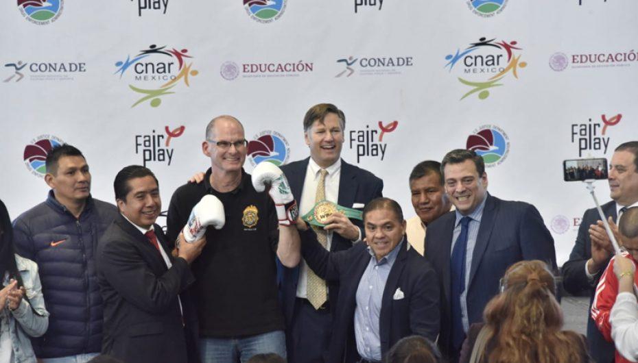 EL WBC FELICITA A CONADE