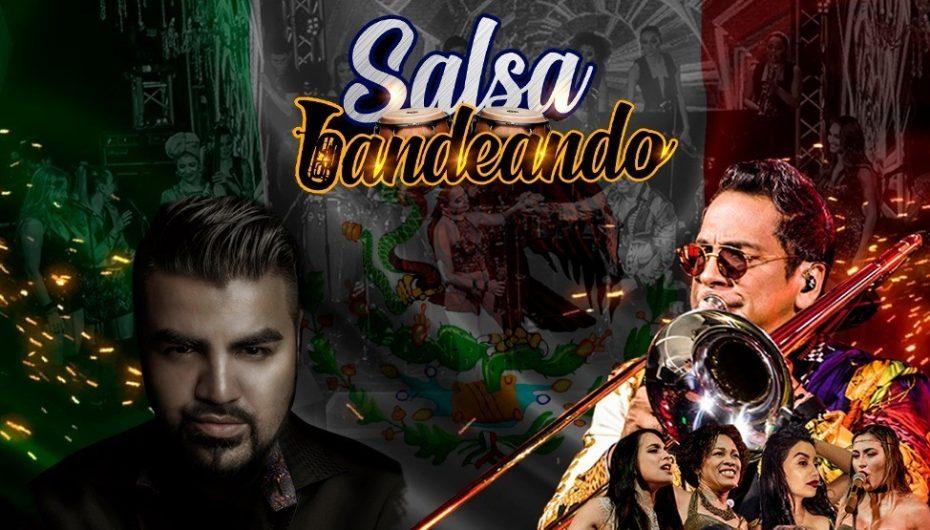 ALBERTO BARROS Y EL MIMOSO PROTAGONIZAN SALSA BANDEANDO EN EL PEPSI CENTER