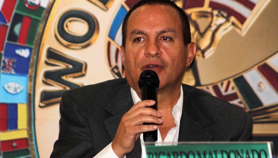 """Comisión de Box de la Ciudad de México es que mientras el semáforo está en rojo no hay espectáculos deportivos""""."""