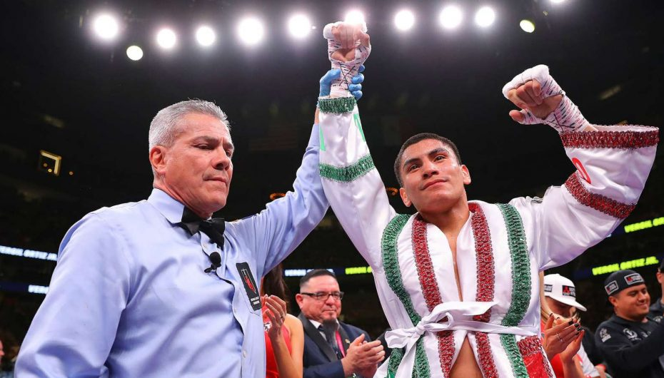 Golden Boy Boxing Regresa julio Vergil Ortiz Jr. vs. Samuel Vargas.