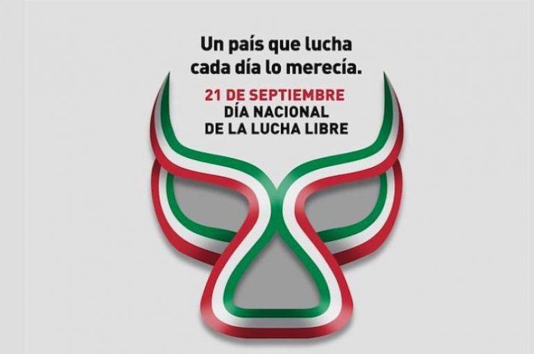 DÍA NACIONAL DE LA LUCHA LIBRE Y EL LUCHADOR MEXICANO