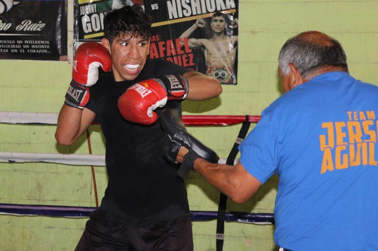 Jerson anhela tener un cinturón del WBC.