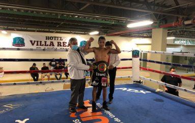 """HÉCTOR """"GUERRERO"""" GARCÍA SE CORONÓ CAMPEÓN FEDECARIBE WBA EN CIUDAD ACUÑA"""