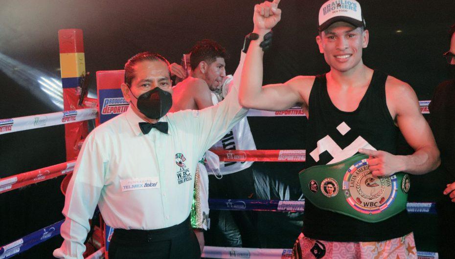 """""""Kaiser"""" Valtierra, nuevo Campeón Latino ligero del WBC."""