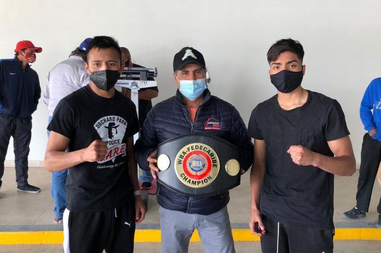 JARET GONZÁLEZ Y HÉCTOR GARCÍA DOLORES DISPUTAN CAMPEONATO FEDECARIBE WBA