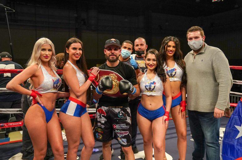 """The Magic"" Alamo se corona campeón Latino WBO."