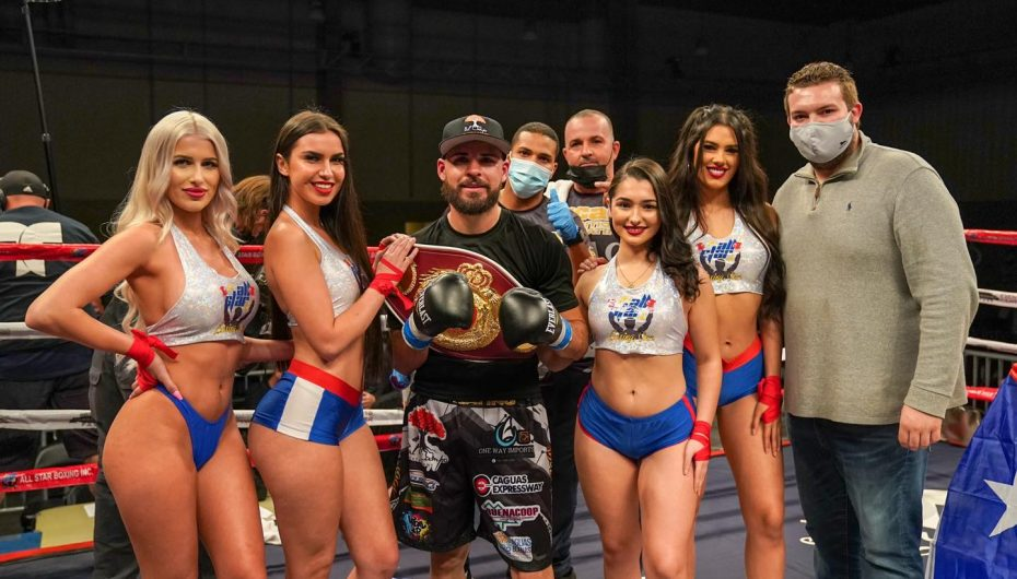 """The Magic"" Alamo se corona campeón Latino WBO."