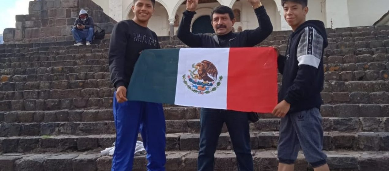 SE REPORTAN LISTOS EN LIMA PERÚ: CHRISTIAN GARNICA & MARCO GARDUÑO
