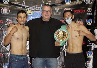 Valtierra expone su título e invicto ante López.