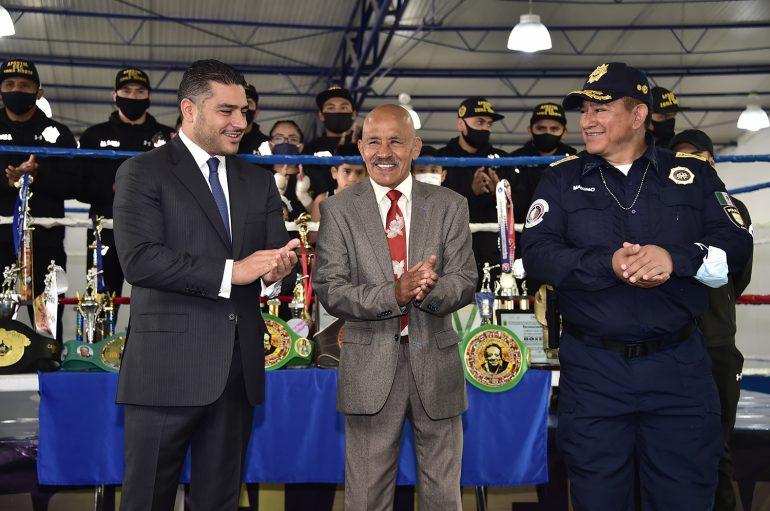 Se Inaugura el Primer Gimnasio Boxeo Zona Norte de Seguridad: S S C