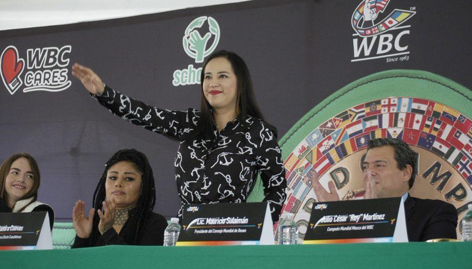"""SANDRA CUEVAS APLICARÁ """"NOCAUT"""" DESDE EL BARRIO DE TEPITO A LAS MALAS IDEAS."""