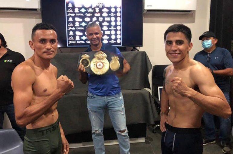 """""""CHACAL"""" GONZÁLEZ Y ALEXANDER MEJIA DISPUTAN CINTÓ CONTINENTAL WBA EN CULIACÁN"""