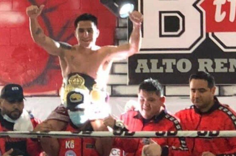 """KEVIN """"CHACAL"""" GONZÁLEZ, NUEVO CAMPEÓN INTERCONTINENTAL DE LAS AMÉRICAS WBA"""