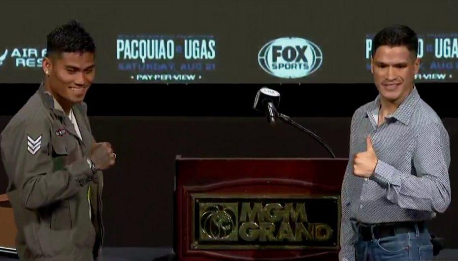 'POLLITO' CEJA Y MAGSAYO AMENAZAN CON NOCAUT EN LAS VEGAS
