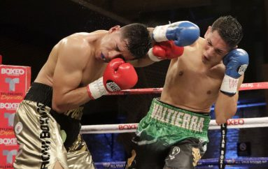 """""""Alacrán"""" Ruiz se levanta como campeón."""