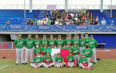MÉXICO Luce en Béisbol Panamericano Infantil